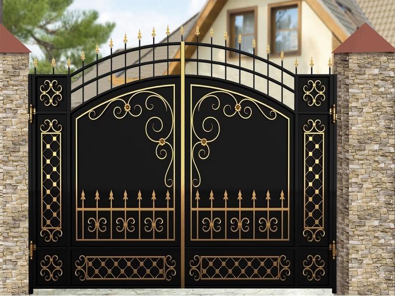 Кованые ворота в Екатеринбурге