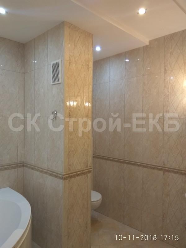 Ремонт ванной комнаты и туалета в Екатеринбурге