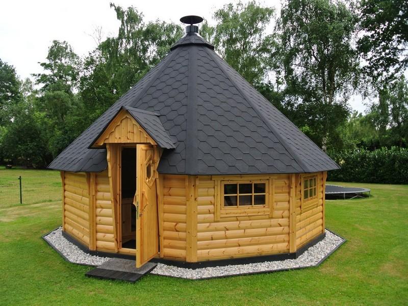 Строительство гриль-домиков